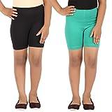 #7: Lula Girl's Spandex Cycling Shorts