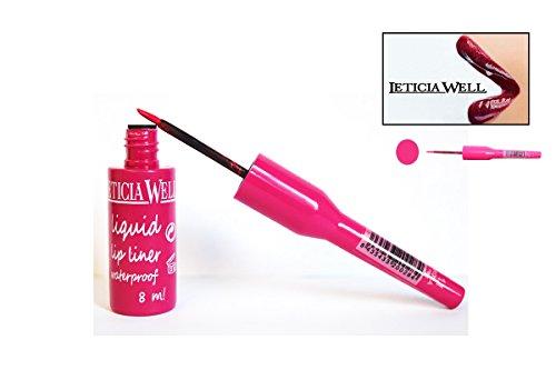 Lip Liner Lipliner Flüssigkeit–Rosa–Waterproof–Leticia Well (Rosa Bleistift Lip Liner)