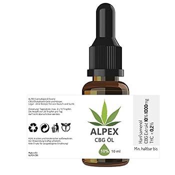 Alpex-cbg (10ml) Premium Cannabigerol Essenz ÖL Cb-1 Und Cb-2 Aktivator 2