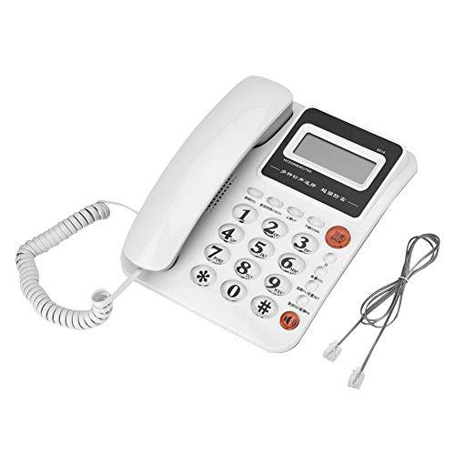 Teléfono Cable, teléfono Fijo Pantalla Grande Identificador