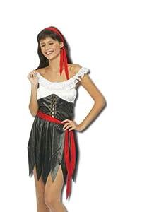 Perkins-Humatt - Disfraz de pirata sexy para mujer, talla UK 8-10 (51169)