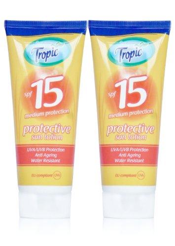 2x-sun-tropic-sun-lotion-cream-spf15-100ml-uv-protection-water-resistant