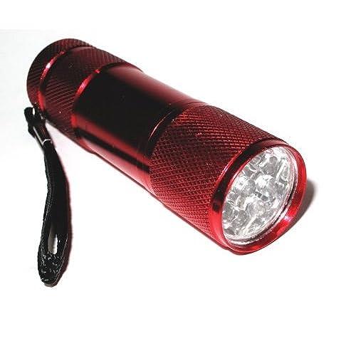 7 LED Aluminium Mini Torch Flashlight Small Super Bright Battery .*