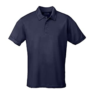 AWD Just Cool Breathable Cool Polo Shirt French Navy 2XL
