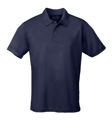 Cool Plus Polo (Just Cool - Performance - Performance Polo Shirt, atmungsaktiv, Shirt, atmungsaktiv, XL,Navyblau)