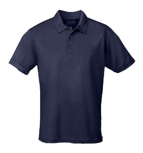Just Cool - Performance - Performance Polo Shirt, atmungsaktiv, Shirt, atmungsaktiv, New French Navy