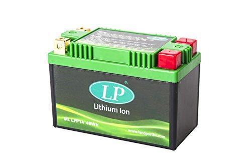 Accossato Batteria al Litio HONDA 1100 VT1100C2 Shadow Sabre 00-06 ML LFP14