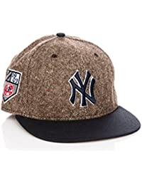 New Era 59Fifty Tweed Crest Neyyan Team mixte adulte, casquette, marron