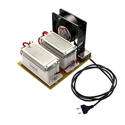 KKmoon generador del ozono de 20g / h,generador de ozono para agua/generador...