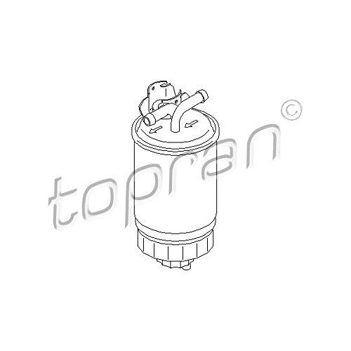 Topran Filtre à carburant, 102 732