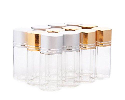 12pcs 10ml Claro muestreo muestra botellas viales