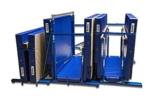 Bänfer® Niedersprungmatte Stufenbarren Super, klappbar