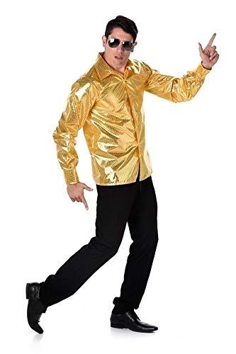 Karnival Costumes 82121 Kostüm, Men, gold,
