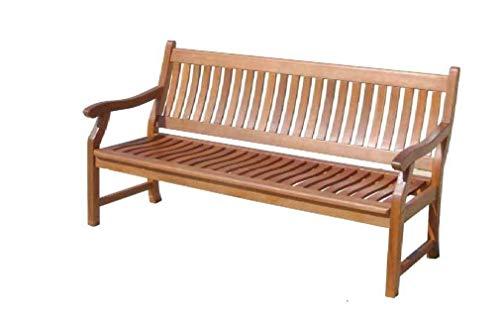 Sedex Gartenbank New Jersey, 3-Sitzer, Holzbank aus Hartholz Eukalyptus 100{77cf69fdd6c80d01907d1cd9d32201c74382a13dfcf8f50be1f14e6424ae2820} FSC