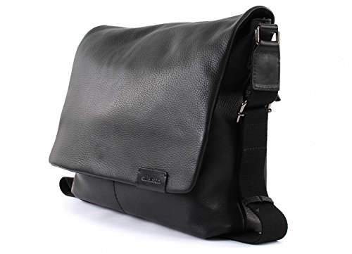 Strellson Garett Umhängetasche Leder 34,5 cm Black