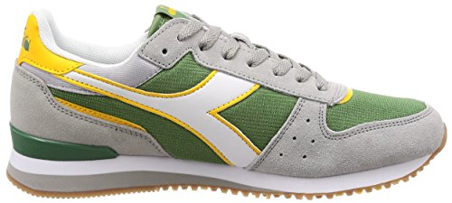 Diadora Malone, Chaussures de Gymnastique Homme Verde/Paloma