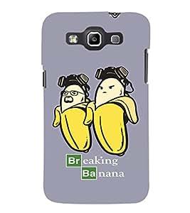 EPICCASE Breaking banana Mobile Back Case Cover For Samsung Galaxy Quattro (Designer Case)