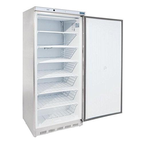 41l9ihr91BL. SS500  - Polar Freestanding Single Door Freezer 600 Ltr 1890X780X695mm Restaurant Catering Commercial