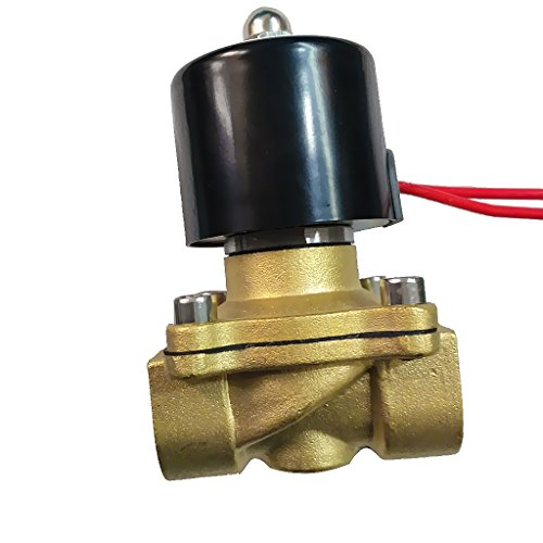 24v-gas-ventil (MagiDeal 24v Dc 1/2 '' Messing Elektrisches Magnetventil Wasser Luft Gas NC(Normal Geschlossen) Ersatz Ventil)