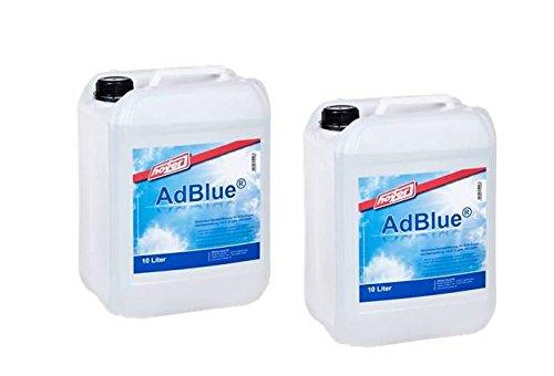 AdBlue-2-x-10-Liter-Kanister-von-Hoyer-mit-Ausgieer-fr-Audi-VW-Mercedes