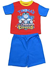 Boys Thomas and Friends Short Pjs Pyjamas Size 18-24 Months