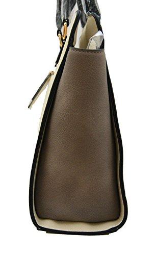 EMILY & NOAH - Shopper Tasche Damentasche - 60178.899 offwhite grau kombi