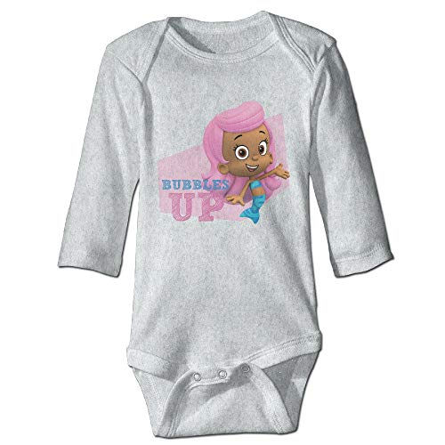 Molly Bubble Guppy UP Cute Baby Boy Girl Long Sleeve Jumpsuit Cotton 24Months