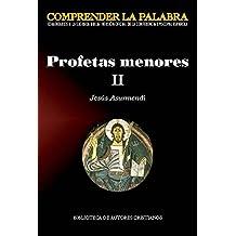 Profetas menores II (COMPRENDER LA PALABRA)