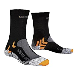 X-Socks Funktionssocken Winter Run, Black, 35/38