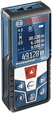 Bosch Professional Laser-Entfernungsmesser GLM 50 C (Bluetooth Schnittstelle für Apps, Messbereich: 0,05 - 50 m, in Schutztasche)