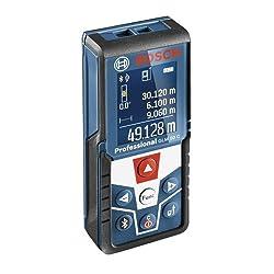 Bosch Professional Laser Entfernungsmesser GLM 50 C (Messbereich: 0,05 - 50 m, Messgenauigkeit: +/- 1,5 mm, in Schutztasche)