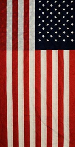 l America - Multifunktionstuch aus Polyester * Stilvoller Schutz vor Wind und Wetter (Lustige Horror-filme Für Halloween)