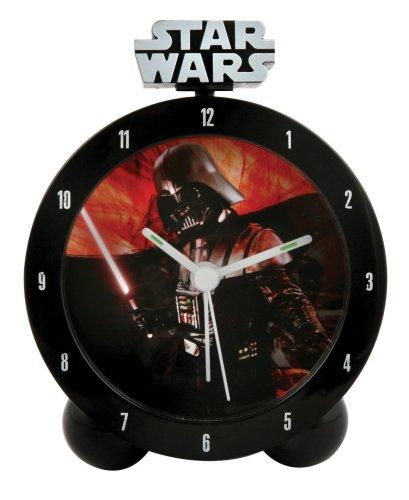 Star Wars - Clone Wars 23241 - Reloj analógico infantil de cuarzo con correa de plástico multicolor (alarma)