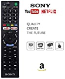 Universal Youtube Netflix Smart Tv Remote for Sony Led/Lcd/Bravia Tv (Works With all SONY Models) No Setup Required.