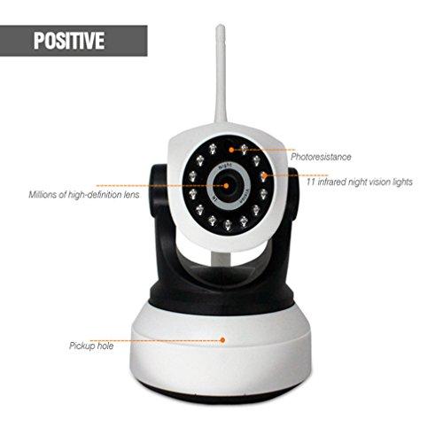 Fernwiedergabe Drahtlose Ip-Kamera 720P Full HD Fernbedienung Ip Home Security Kamera System With Mit Infrarot-Nachtsicht Indoor Home Security - Infrarot-system Security-kameras