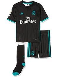 adidas Real Madrid Mini Kit Temporada 2017 2018 82f98bd6156b2