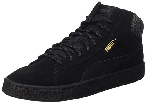 Puma 1948 Mid Twill, Baskets Basses Mixte Adulte Noir - Schwarz (puma black-puma Black 02)