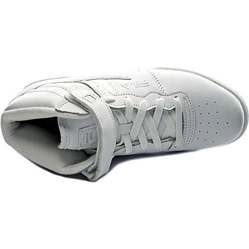 Fila F13 garçons Synthétique Baskets Triple White Réductions