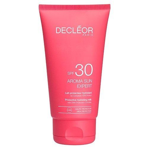 Decléor Protective Hydrating Milk SPF 30 unisex, feuchtigkeitsspendende Sonnenschutzmilch, 1er Pack (1 x 0.15 l)