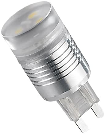 Luminea SMD LED-Energiesparlampe G9, weiß, 120°
