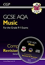 9-1 GCSE Music AQA Complete Revision & Practice with Audio CD: for exams in