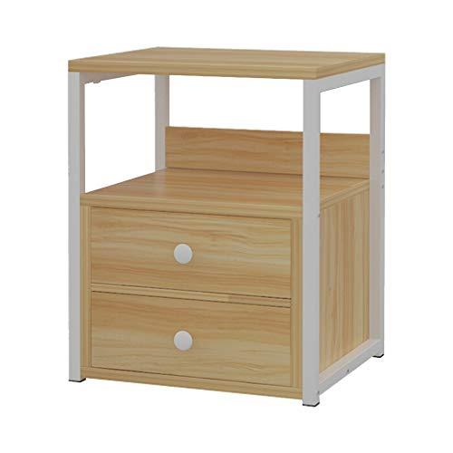Comodini con cassettiera, mobile da tavolo con base in legno e armadi moderni (colore : light wood)