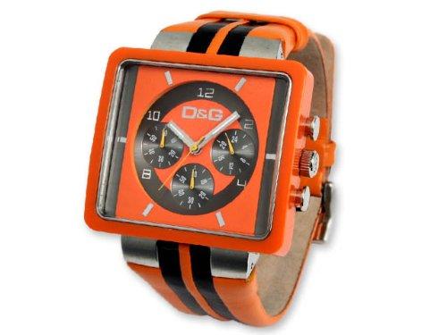 DOLCE & GABBANA Armbanduhr CREAM Herren Uhr Markenuhr Chronograph D&G DW0065
