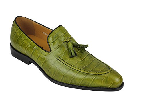 Xposed , Mocassins homme Vintage Green