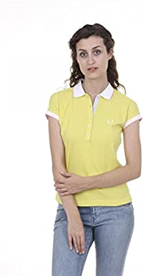 Fred Perry Fred Perry Womens Polo 31162095 0033 GIALLO