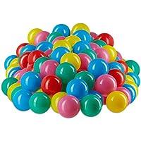 Relaxdays Bolas Piscina Infantil de Colores,, Pack of 200 10022476_777