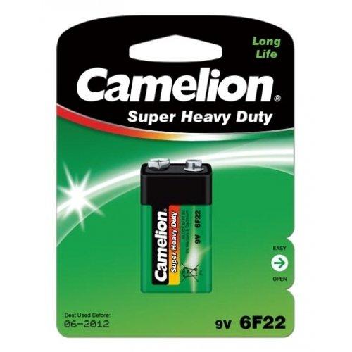 Pile Camelion Super Heavy Duty 6F22 9-V-Block, 9V, Alkaline
