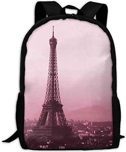 HOJJP Sac à mainMost Durable Lightweight Cool School Backpack - Paris B07KVYV122 | Expédition Rapide