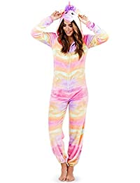 Loungeable, Ladies Luxury 3D Unicorn All In One Jumpsuit Onesie