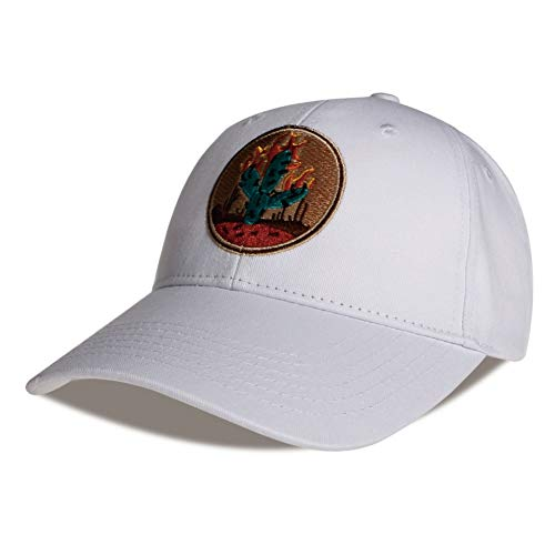 BQMO Kaktus Gestickte Baseballmütze Schwarz 6 Panel Fishing Hats Travis Scotts Rodeo Cap Hats -